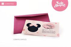 Convite Simples  (www.festasimples.com) ♥