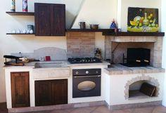 camino cucina muratura - Cerca con Google