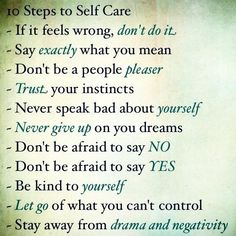 excellent advise! especially the last one