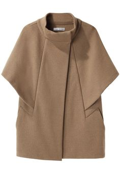Tsumori Chisato Double Knit Cape Jacket