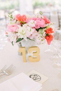 Spring centerpieces: http://www.stylemepretty.com/little-black-book-blog/2014/08/12/romantic-napa-valley-winery-wedding/   Photography: U Me Us - http://umeusstudios.com/