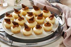 No-Bake Mini Caramel Cheesecakes