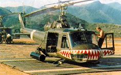 UH-1 Huey of the 174th Assault Helicopter Company, U.S. Army