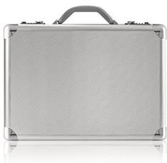 Solo Fifth Avenue Inch Laptop Attaché, Hard-sided with Combination Locks