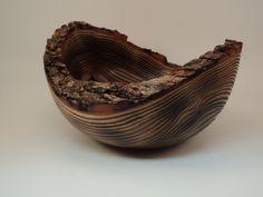 Natural Edge Sassafras Bowl by Bowlweevilwoodturnin on Etsy