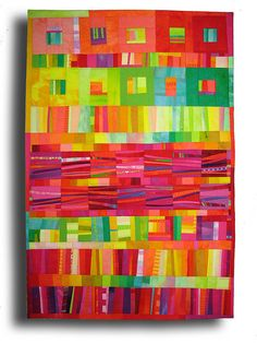 Bon Bon #1, quilt by Melody Johnson.