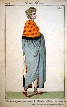 Costume parisien 1798