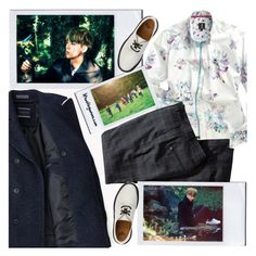 """""""Kim Seokjin / Papillon / BTS concept photos"""" by the92liner ❤ liked on Polyvore featuring 1 Like No Other, Dr. Martens and H&M"""