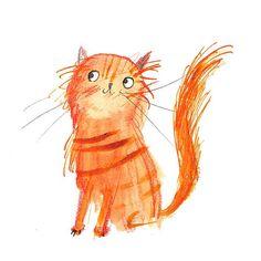 Marmalade #cats #drawing #illustration #illustrator