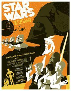 art deco star wars
