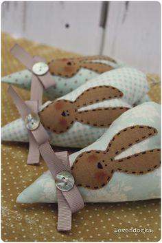 Levendorka: Húsvéti dekorációk, Tilda Herz, heart