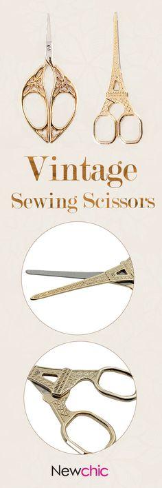 #diy#sewing#scissors#newchic#eiffel#tower#metal