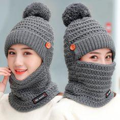 2018 зимние Шапки Для женщин вязаная шапка Обувь на теплом меху Pom Кепки  Skullies шапочки для bc9d16f696a69