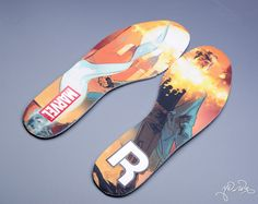 Reebok has teamed with Marvel to release some awesome limited edition shoes. /// Chamber (Insoles)