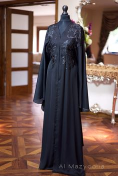 Hey, I found this really awesome Etsy listing at https://www.etsy.com/listing/240144005/al-mazyoona-black-embroidered-party
