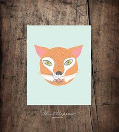 Mr. Fox. Thimblepress Designs