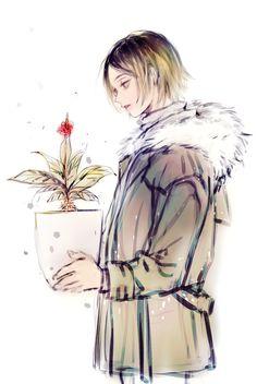 The flowers are beautiful like you Kuroo Tetsurou, Kageyama, Hinata, Haikyuu Fanart, Haikyuu Anime, Tsukishima X Yamaguchi, Avatar, Kuroken, Karasuno