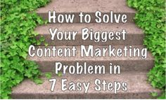 """Some pretty obvious guidance here, and how's this for a mouthful - a """"marketers' biggest content marketing challenge is maximizing each content marketing effort's effectiveness."""" Say that quickly 10 times :) #content"""