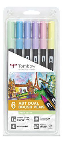 Tombow Dual Brush - Estuche 6 rotuladores doble punta pin... https://www.amazon.es/dp/B01M8HYL3D/ref=cm_sw_r_pi_dp_x_YYs4yb0519V7B