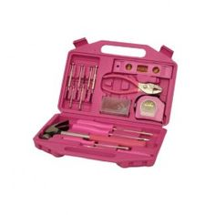 Pink toolbox :) & Just for the record, I'm not as girly as everyone thinks.