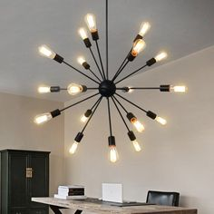 comedor Negro hotel,salon Lampara Retro del Pared,E27 LED Apliques de pared,Iluminaci/ón Luz de interior para cocina restaurante