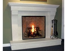Fireplace, etc. Home, Hearth products, Gas Logs, Mantels, Glass