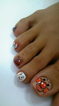 ANPANMAN omg. Totally gonna do these when I get all the right colors!