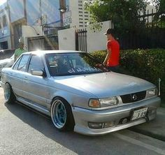 Nissan Sentra, B13 Nissan, Jdm, Nissan Sunny, Old School Cars, Cars And Coffee, Custom Cars, Cars And Motorcycles, Cool Cars