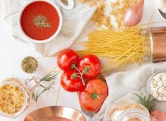 BabyYumYum Lifestyle Article: Add these pasta recipes to your collection by BabyYumYum. Pasta is always a good go-to food item for moms and dads when . Easy Pasta Dishes, Pot Pasta, Easy Pasta Recipes, Easy Meals, Healthy Recipes, Pasta Food, Pasta Spaghetti, Seafood Pasta, Vegan Pasta