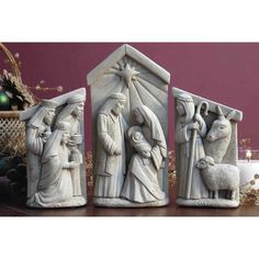 Have to have it. Nativity Set Garden Statue $72.99