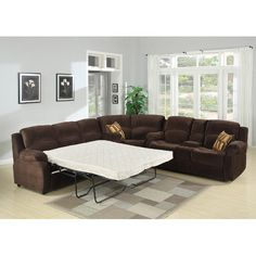 Features:  -Double reclining loveseat with a storage console, a wedge,  pull out…