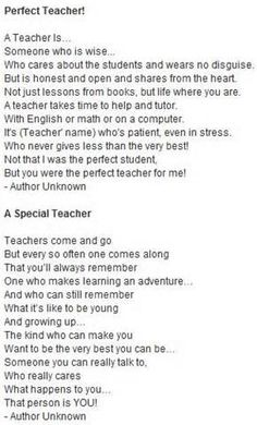 teacher poem - Yahoo! Search Results   Teaching end of year ...