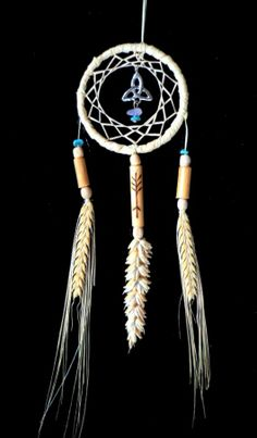 Lammas wheat and barley goddess and Celtic dragon rune Amulet  handmade by rowanduxbury.com