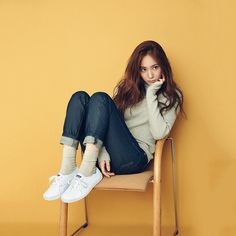 Krystal Jung for Keds haha led shoes ^^ own a pair Krystal Fx, Jessica & Krystal, Korean Girl, Asian Girl, Krystal Jung Fashion, Oppa Gangnam Style, Kiko Mizuhara, Rei Kawakubo, Sulli