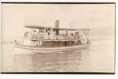 RPPC-Postcard-RIVER-BOAT-RIDE-Every-Hour-25-Cents-RIVERBOAT-FREE-SHIP