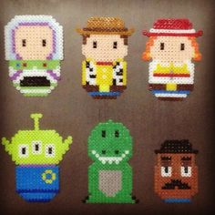 Toy Story hama beads by nokxyz