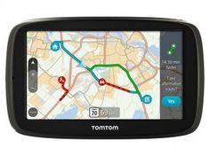 "GPS Automotivo Tomtom GO 50B Tela 5"" - Alerta Radar Mapas 3D"