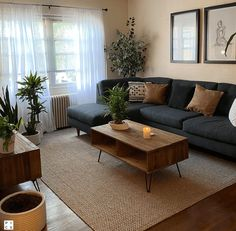 Small Apartment Living, Cozy Living Rooms, Home Living Room, Barn Living, Living Room Ideas For Small Spaces, Living Room Brown, Men's Apartment Decor, Small Apartment Interior Design, Earthy Living Room