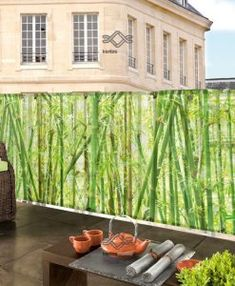 Balcony decoration: ideas for small spaces Small Outdoor Spaces, Small Spaces, Winter Balkon, Balcony Flowers, Patio, Balcony Garden, Sweet Home, Deck, Architecture