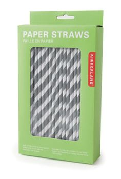 I've seen these super cute, striped paper straws all over the place lately - but this is the best price I've found!