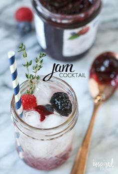 Jam Cocktail | Inspired by Charm