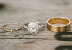 the  sweetest little wedding band EVER - Creative industrial wedding | Photos by Emily Blake | 100 Layer Cake