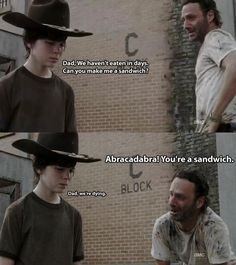 """Hilarious Dad Jokes from """"The Walking Dead's"""" Rick Grimes"""