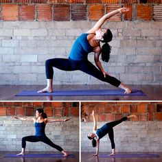 Standing yoga series for strong and sexy legs