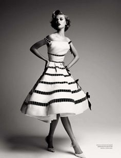 Love this....so girly!  Merde! - kentson: Fashion (Dior by Demarchelier)