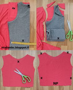 Madam B.C.: Tee-se-itse: Ompele mekko osa 2. Sewing Hacks, Athletic Tank Tops, Sewing Patterns, Projects To Try, Knitting, Experiment, Tees, Women, Fashion