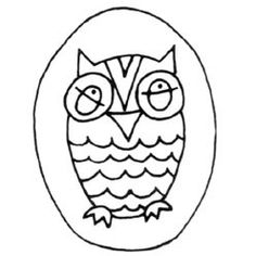 Pattern Detail | O - Owl | Needlecrafter