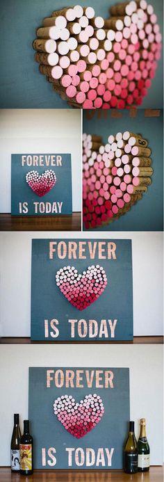Estas manualidades para regalar en San Valentin haran que tu novio se derrita de amor y agradecimiento. Sencillas de hacer ¡Elegí la tuya!