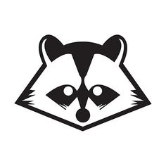 Raccoon Logo by ~SpencerSmells on deviantART