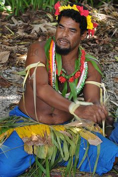 Federated States of Micronesia - Yap State - Fais outer island - Men`s sitting dance by World_Discoverer, via Flickr